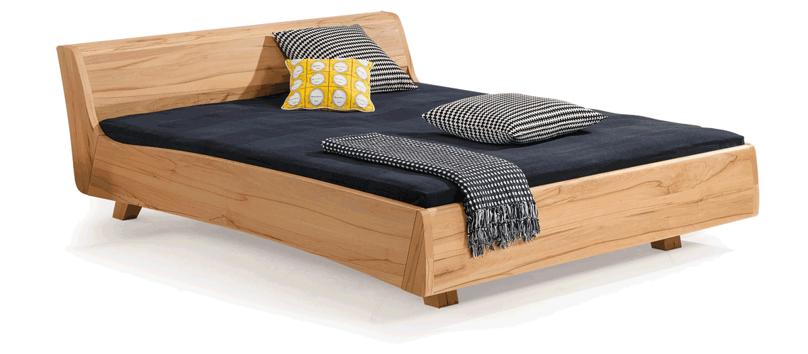solid wood bed Balena