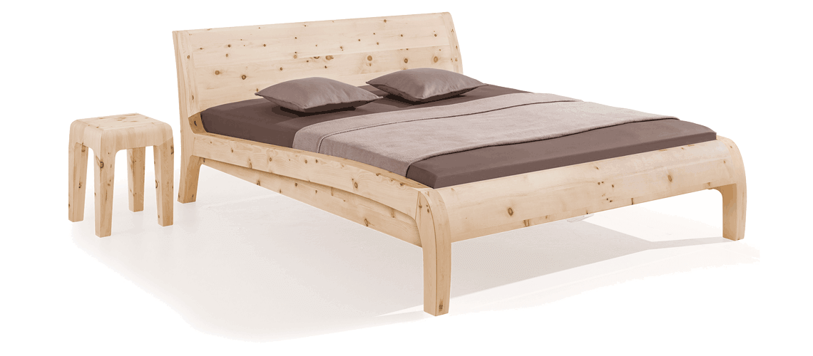 solid wood bed Beluga