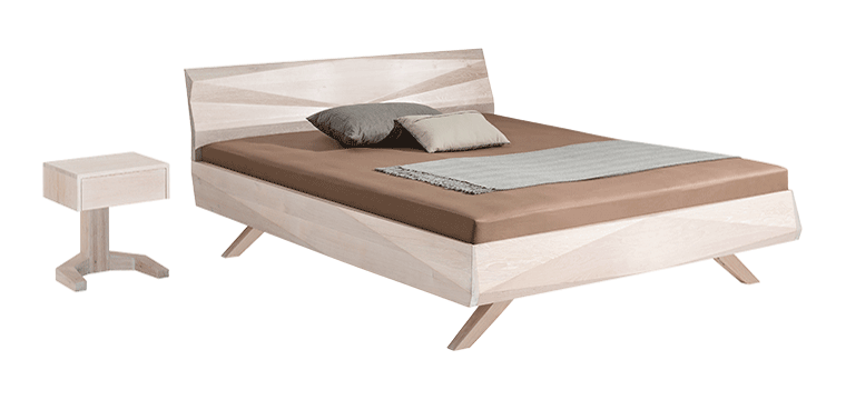 solid wood bed Gabo