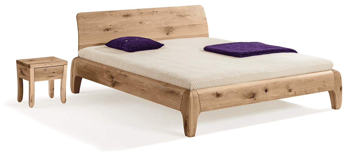 solid wood bed Gonda