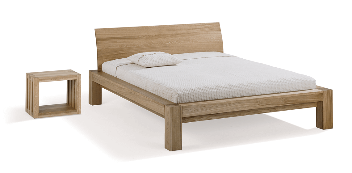 solid wood bed Kara