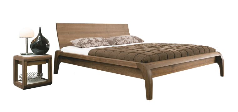 solid wood bed Madral