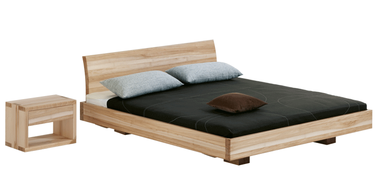 solid wood bed Morell