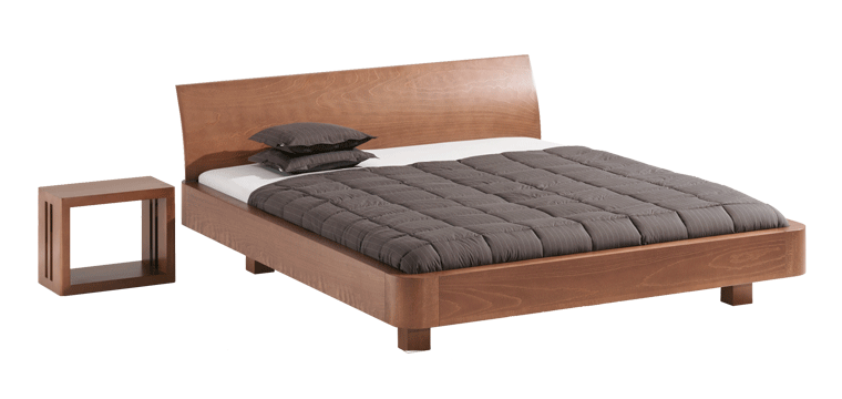 solid wood bed Mucho
