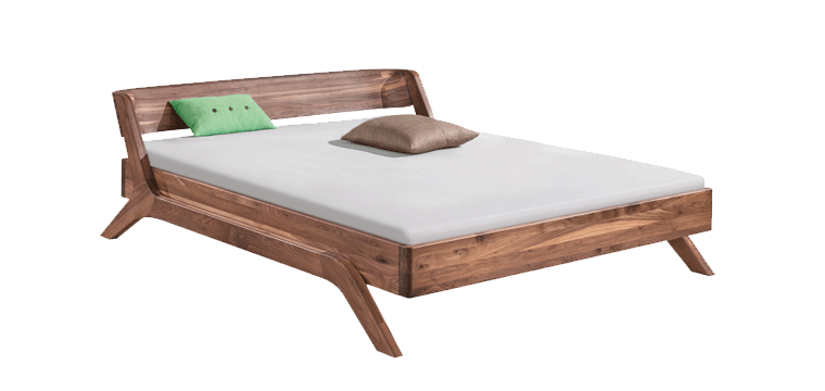 solid wood bed Nera