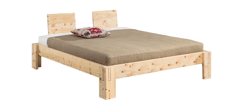 solid wood bed NuveoMaxi