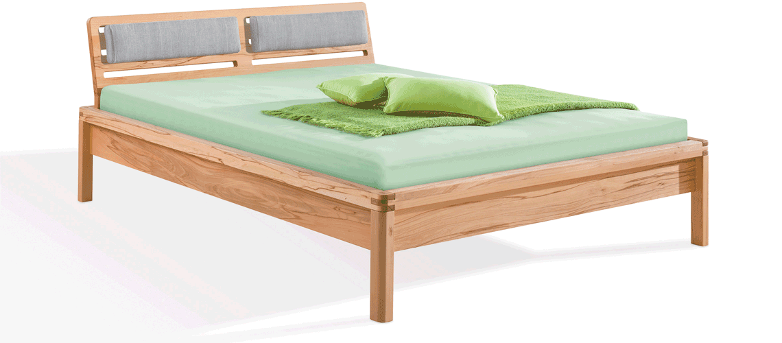 solid wood bed Piu