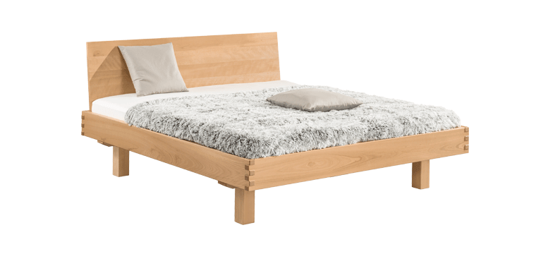 solid wood bed TitianoMaxi