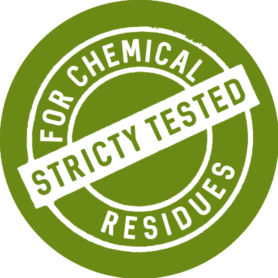 Strictly tested - natural materials and high quality