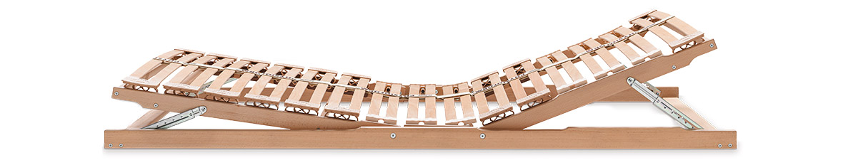 Wooden sprung slatted base Physioform Pro®